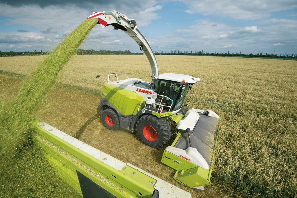 Claas erntemaschinen